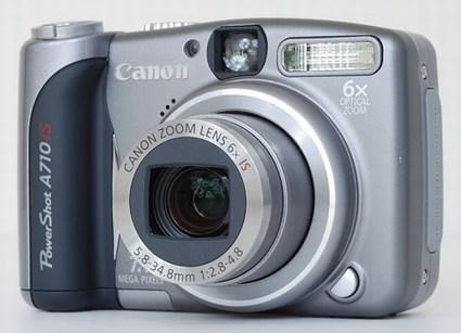 Canon PowerShot A710 IS reviewed