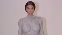 Kim Kardashian's new perfume bottle is modelled on her naked body, naturally