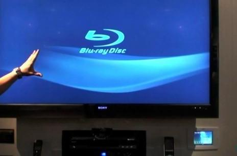 Video: Sony 400 disc Blu-ray changer with Gracenote in action