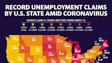 Coronavirus job losses hit these states the hardest