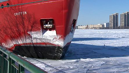 Breaking the Great Lakes Ice