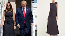 Melania Trump just wore the most flattering dress and it's under £500