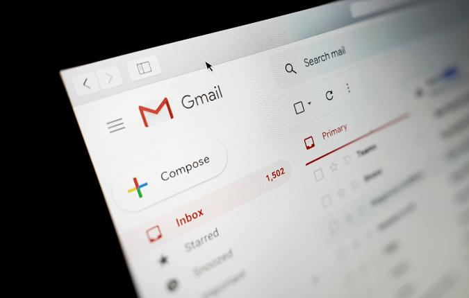 A view of a Google Gmail interface on a laptop in Ashford, Kent. PA Photo. Picture date: Monday January 14, 2020. Photo credit should read: Gareth Fuller/PA Wire (Photo by Gareth Fuller/PA Images via Getty Images)