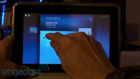 ExoPC shows its touchscreen stuff on video