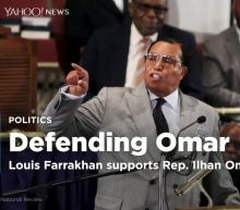 Louis Farrakhan defends Rep. Omar's 9/11 remarks