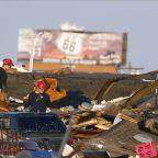 E-F 3 tornado touched down in Oklahoma Saturday