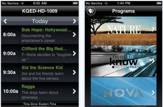 PBS releases app for iPhone with full-length episodes and schedule info