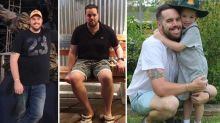 Kids help convince dad to lose 37kgs