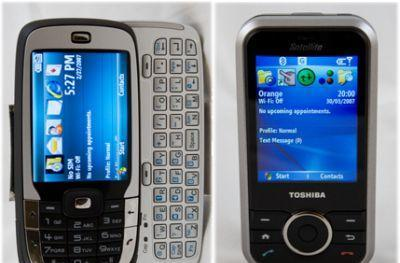 HTC Vox and Toshiba G500 reviewed