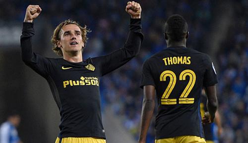 Primera Division: 33. Spieltag: Historischer Griezmann-Treffer rettet Atletico