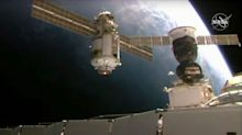 Nasa delays launch of unmanned ISS mission after mishaps at Russian module