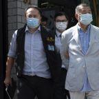 Jimmy Lai: Hong Kong media tycoon held amid sweep of arrests