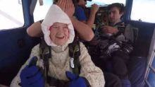 Fearless 102-Year-Old Grandma Skydives to Raise Funds for Motor Neuron Disease