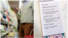 Angry mum pranks lazy husband with fake shopping list