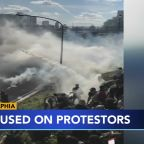 Philadelphia officials defend decision to use tear gas on crowd of protesters