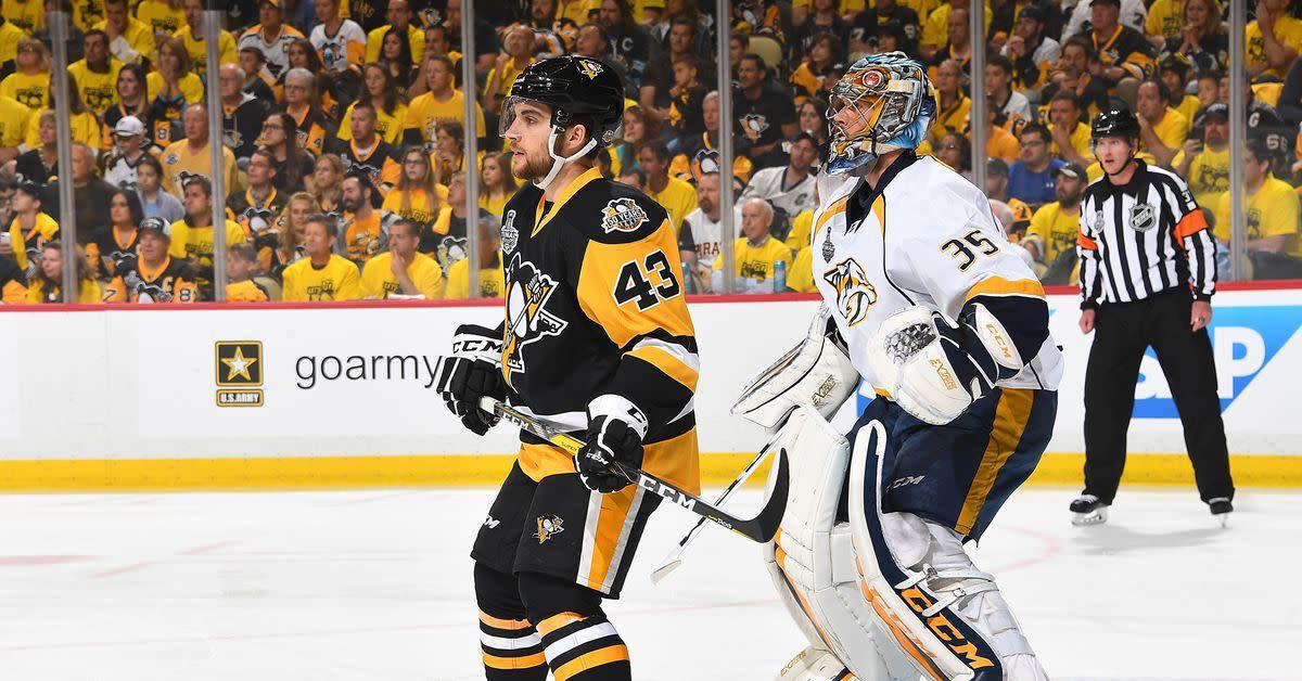 May 31 flashback: Penguins light up Rinne to take 2-0 SCF series lead