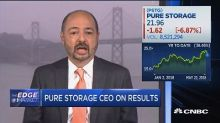 Pure Storage CEO: More and more data wants to be kept acc...