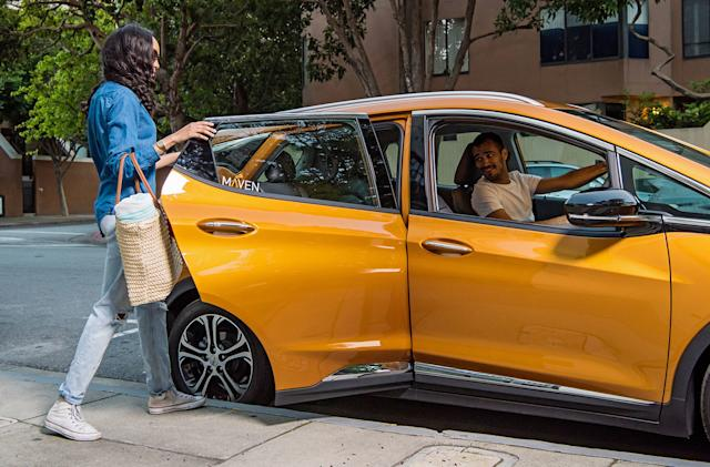 GM expands Maven Gig into Austin with all-electric rental fleet
