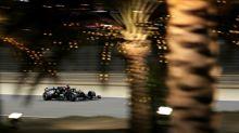 Hamilton tops Bahrain practice, lambasts Pirelli