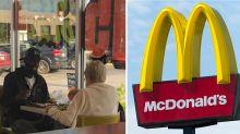 Touching story behind this viral photo of pair at McDonald's