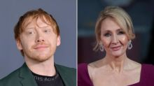 Rupert Grint says he 'firmly stands with the trans community' after JK Rowling's controversial comments
