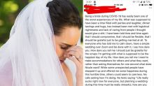 Bride's furious coronavirus wedding rant backfires