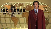 "Ron Burgundy appears in over 50 viral videos promoting ""Anchorman 2"""