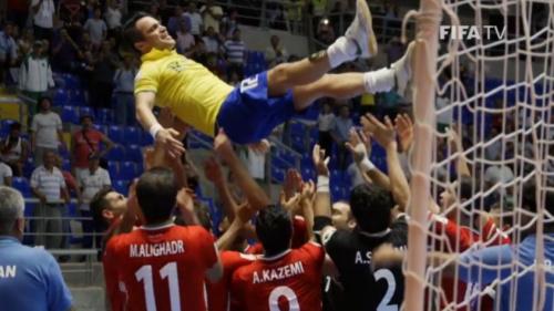 Falcão é convocado para Desafio de Futsal