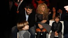 Mira que grandes están los hijos de Shakira y Piqué