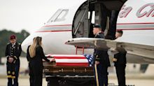 Remains of fallen paratrooper return home to Fort Bragg