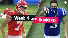 Week 4 Fantasy Kicker Rankings