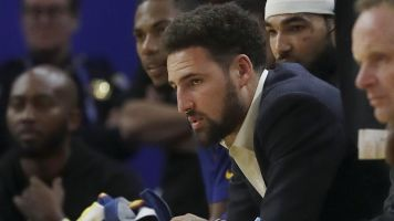 Silver lining of Klay injury? HIs in-game interviews
