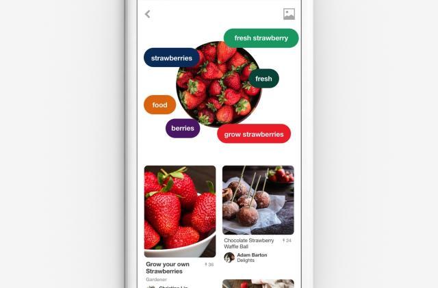 Pinterest Lens finds recipes based on your weekend brunch pics