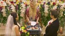 Kesha officiates a real same-sex marriage in her latest music video