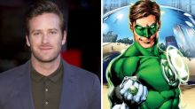 Armie Hammer distances himself from Green Lantern casting rumours