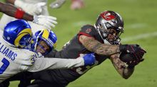 Mike Evans bulldozes Rams defenders for A.J. Brown-esque TD