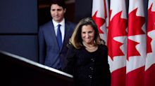 Details on Trudeau's new cabinet; Freeland moving to key domestic role