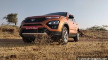 Tata Harrier Image Gallery — The Tata Harrier Has The Quirkiest Handbrake Ever Made!