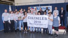 Allison Transmission Receives 2018 Master of Quality Award From Daimler Trucks North America