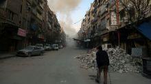 UN diplomats locked in talks on Syria ceasefire