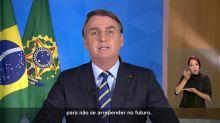 Confira na íntegra o pronunciamento do presidente Jair Bolsonaro no dia 8 de abril de 2020
