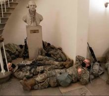 Nearly 200 National Guard troops deployed to Capitol test positive for Covid