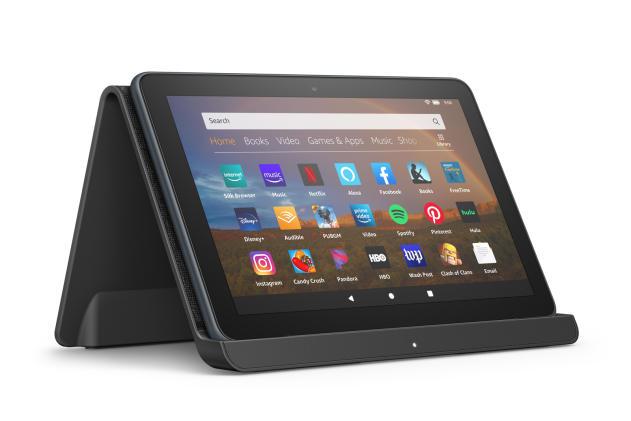 Amazon's latest Fire HD 8 tablets boast sleeker looks and wireless charging