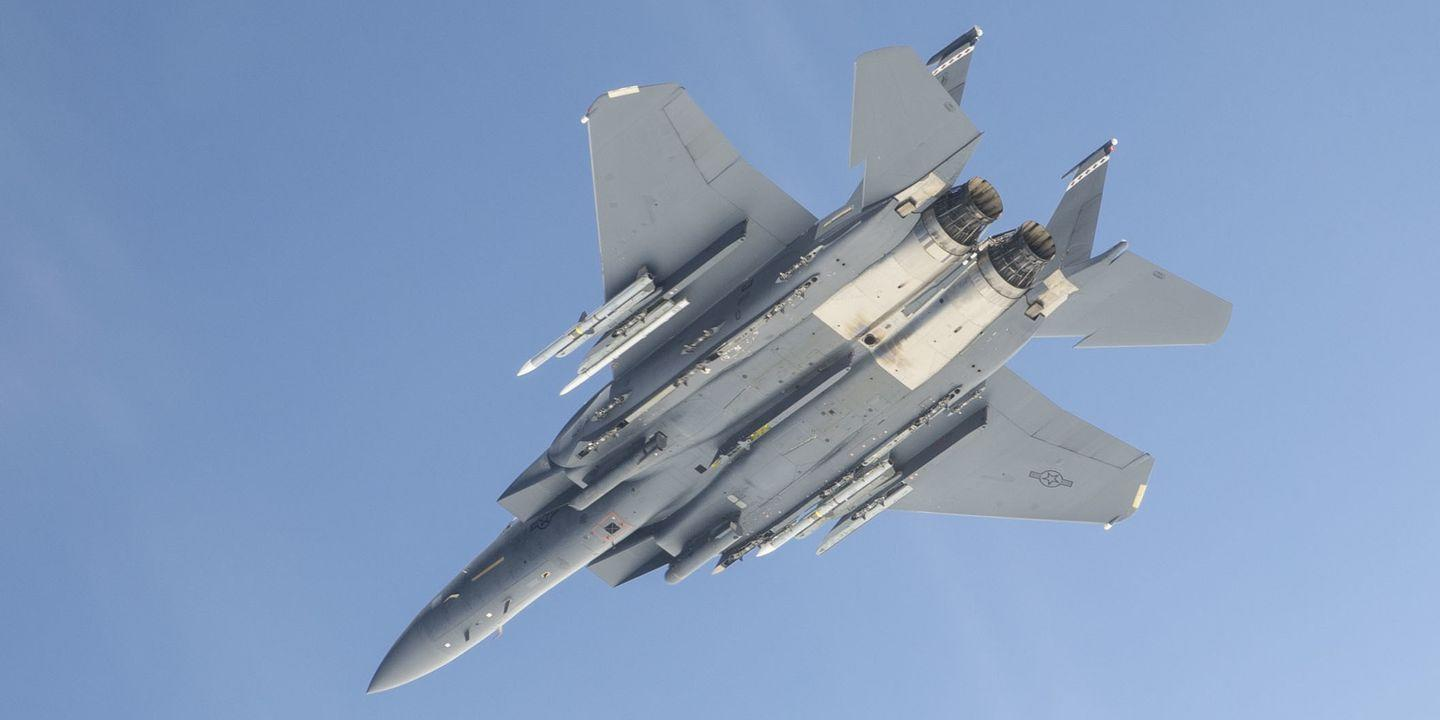 An F-15 Just Made the World's Longest Missile Shot