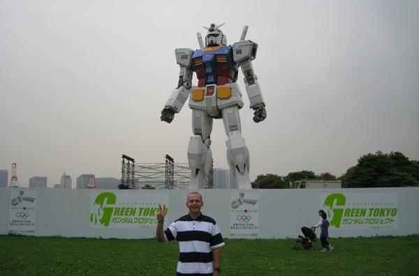 Life-sized Gundam complete and no, you can't borrow it