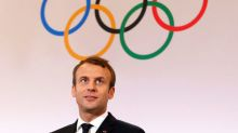 Macron praises IOC for keeping Paris, LA dreams alive