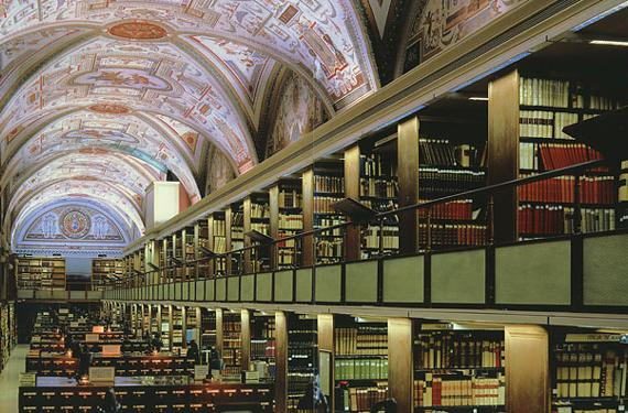 Vatican and Oxford libraries scan ancient works, let scholars stay in their armchairs