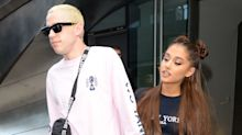 Ariana Grande Got Pete Davidson's Name Tattooed Above Her Engagement Ring!