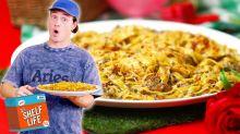 Creamy Garlic Mushroom Tagliatelle Recipe With Tom