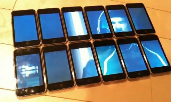 Mongoose Studio's dozen iPod cluster display is an expensive way to watch Tron (video)